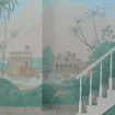 Detail of pool mural for private client