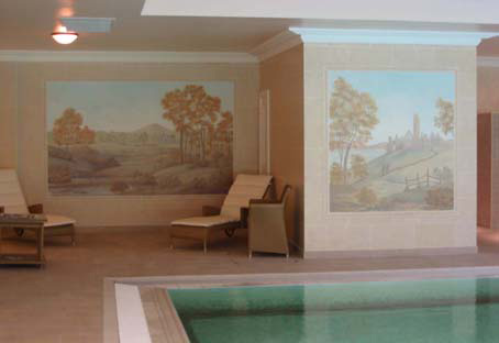 Spa Mural Mount Falcon Country House Hotel