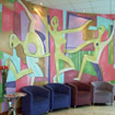 Mural at Longford Arms Hotel Spa